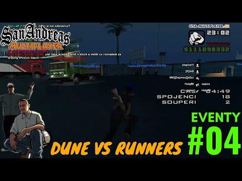 DUNE VS RUNNERS | EVENTY #04 | GTA SAMP - WTLS | CZ/SK