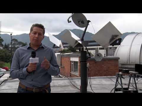 La U.N. Construye Primer Radiotelescopio Inteferómetro Tipo Michelson En Colombia  - U.N.
