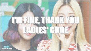 [K-Pop] LADIES' CODE (레이디스 코드) - I'm Fine Thank You (PT-BR)