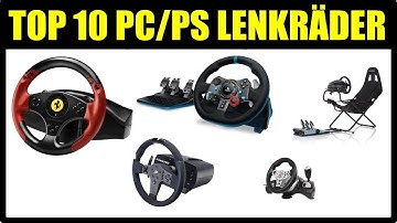 ► TOP 10 PS4 / PC LENKRAD MODELLE ★ LENKRAD TEST DEUTSCH ★ Lenkrad Vergleich Pc ★ Lenkrad unter 100€