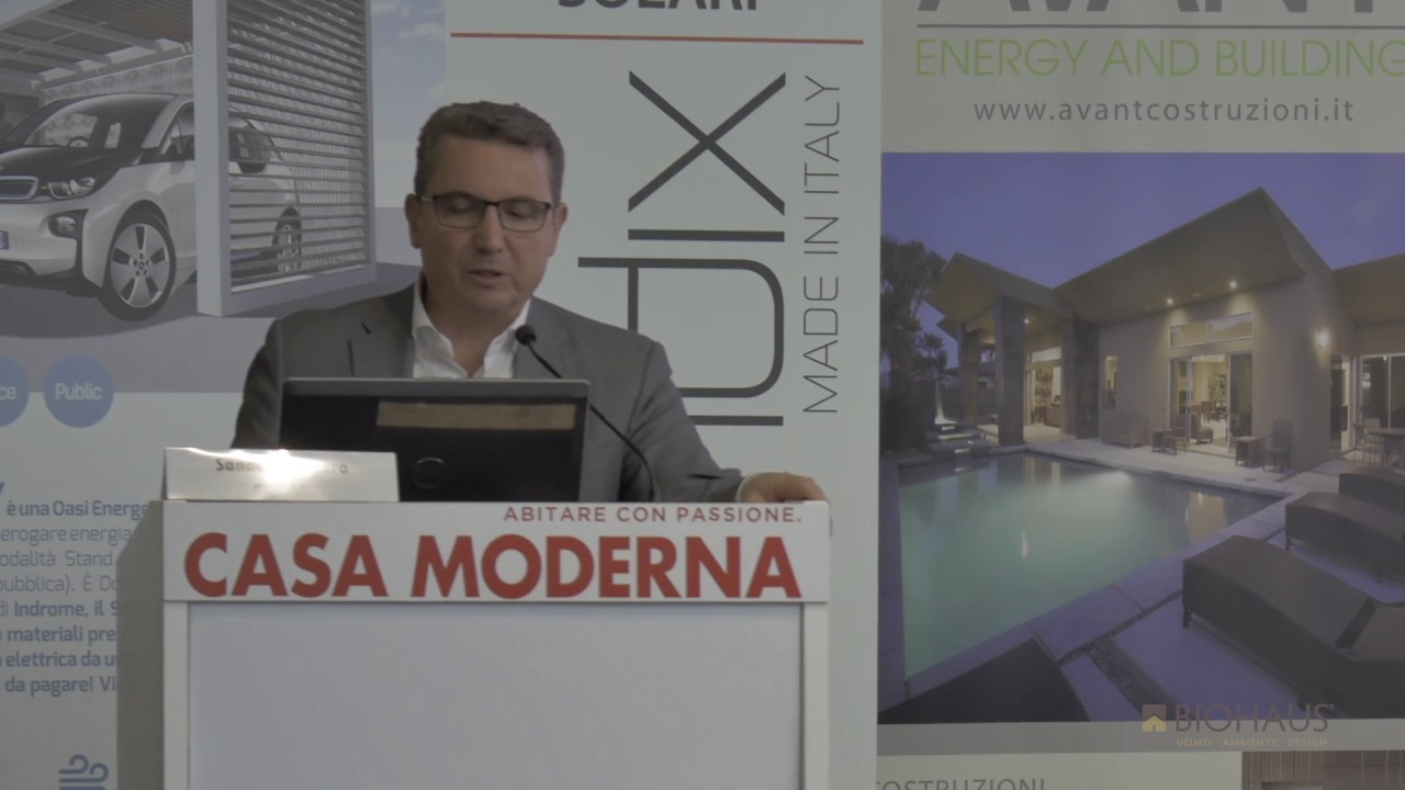 Sandro gennaro presenta la rete ecosmart building alla for Fiera casa moderna