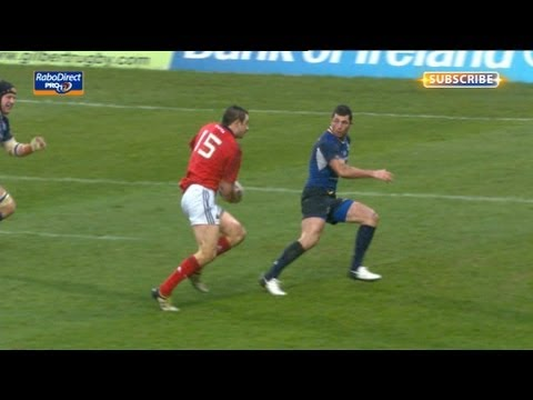Felix Jones shows and goes for Munster