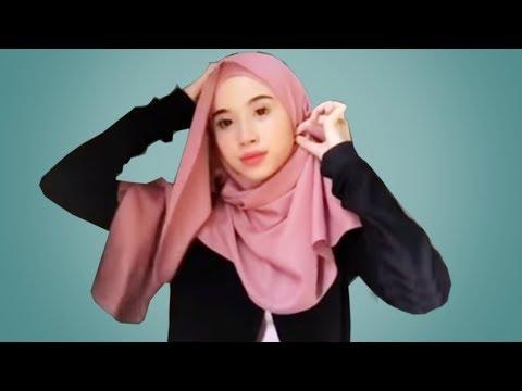 20 Tutorial hijab segiempat paling mudah dan kekinian | cara pakai jilbab segi empat kali ini sangat simple mudah cantik cepat....