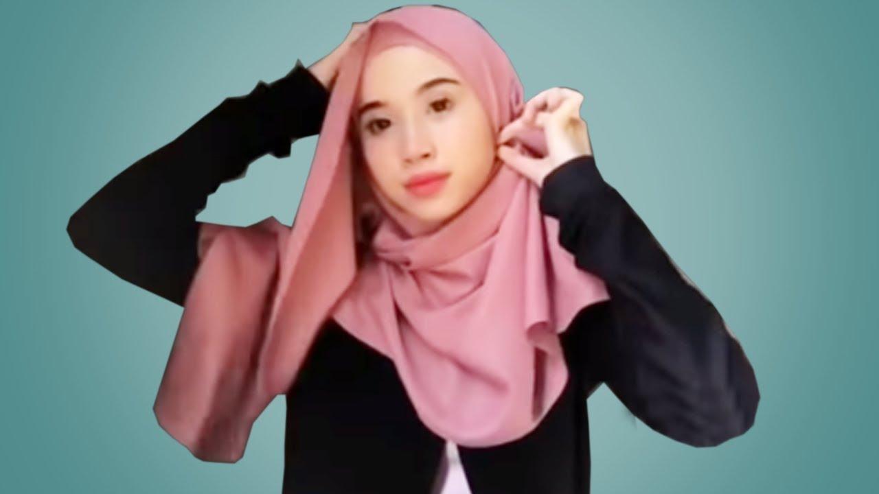 12 Tutorial Hijab Pashmina Paling Simple Cantik Kekinian Youtube