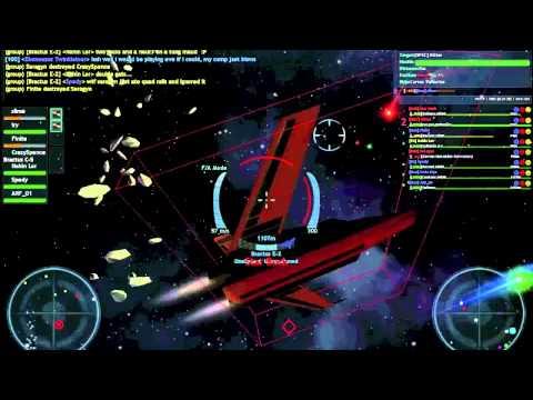 Vendetta Online - ITAN vs ONE battle