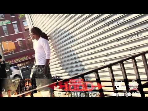 Ace Hood - Blood Sweat and Tears CD Cover Photoshoot