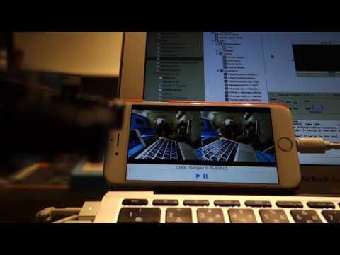 Gstreamer streaming test with stereo camera, Raspberry Pi 3 to iOS