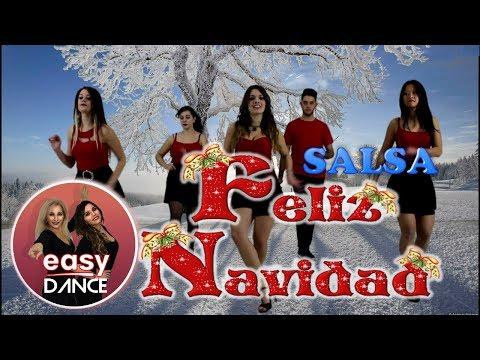 FELIZ NAVIDAD | SALSA |CHRISTMAS Dance - BALLO DI GRUPPO |Joyeux Noël,聖誕節快樂,Easydance Choreo- Natale