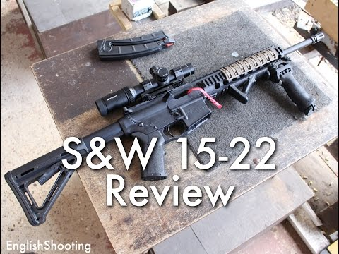 Smith & Wesson M&P 15-22 .22LR AR-15 Review and Disassembly