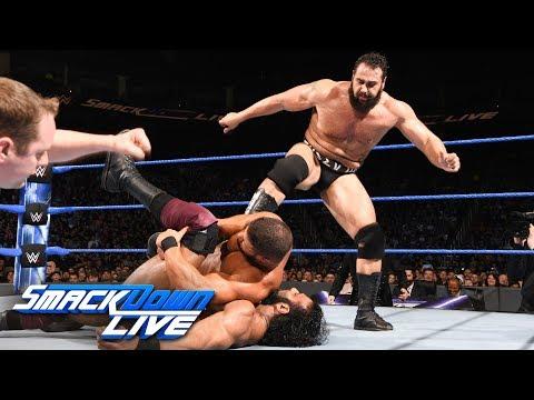 Randy Orton & Bobby Roode vs. Jinder Mahal & Rusev: SmackDown LIVE, March 27, 2018
