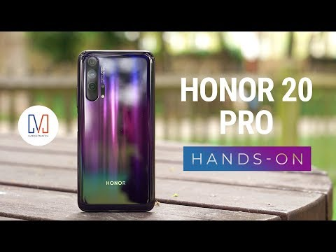 Honor 20 Pro Unboxing and Hands-On להורדה