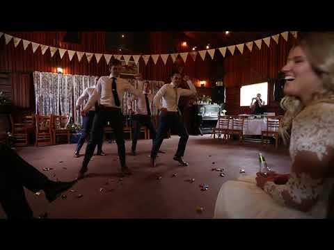 Surprise Groomsmen Dance