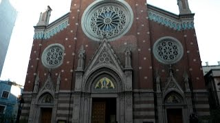 Католическая церковь в Стамбуле на улице Истикляль. #Путешествия(Католическая церковь в Стамбуле расположена в европейской части города, в районе Бейоглу ( улица Истиклял..., 2016-03-16T13:52:53.000Z)