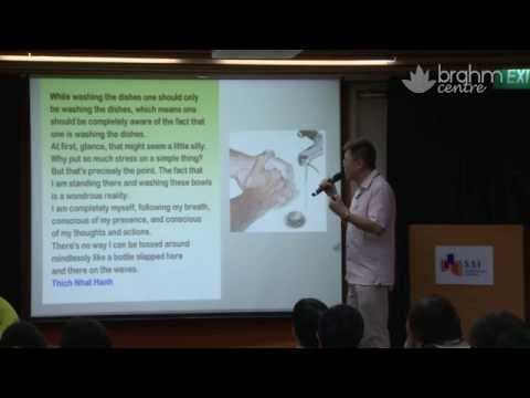 Mindfulness Based Cognitive Therapy - Dr Ong Seh Hong