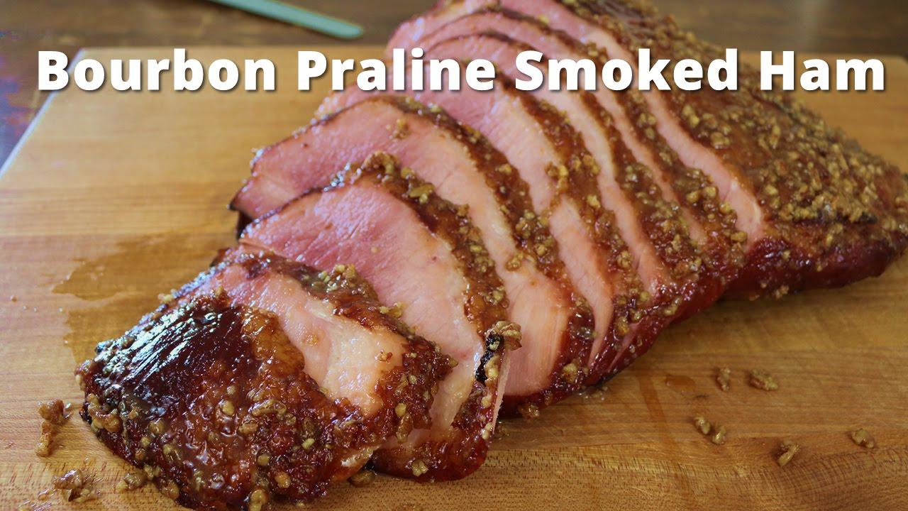 bourbon praline smoked ham double smoked ham with a bourbon