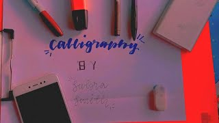 Calligraphy Easy And Simple