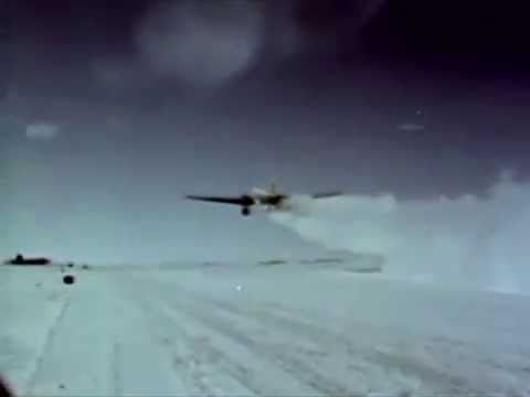 Military Air Operations In The Antarctic - 1960 - CharlieDeanArchives / Archival Footage