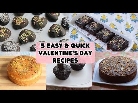 5 Easy & Quick Valentine's Day Recipes 2018 - Priya R - Magic of Indian Rasoi