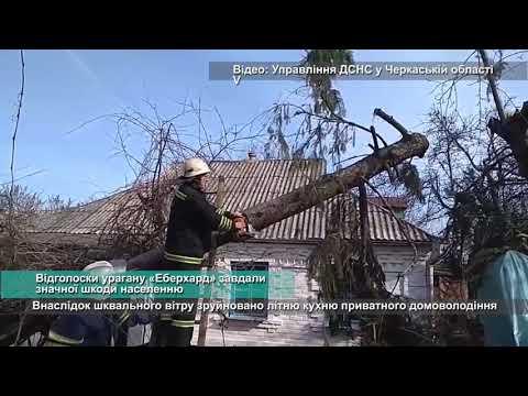 Телеканал АНТЕНА: Відголоски урагану «Еберхард» завдали значної шкоди населенню