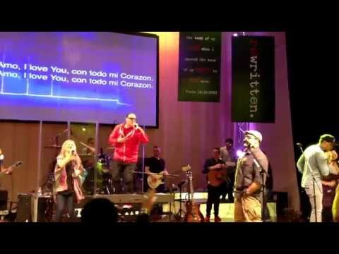 Israel Houghton At Cornerstone Church Of San Diego - Te Amo