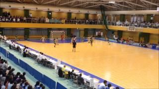 2013年10月6日日)東京国体少年女子ハンドボール準決勝埼玉代表対大分代表 Vol 3 Handball Japan Girls Saitama Oita at Tokyo