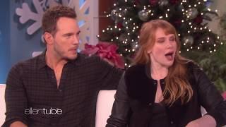 'The Ellen DeGeneres Show' — Chris Pratt and Bryce Dallas Howard part 1 (dec. 5, 2017)