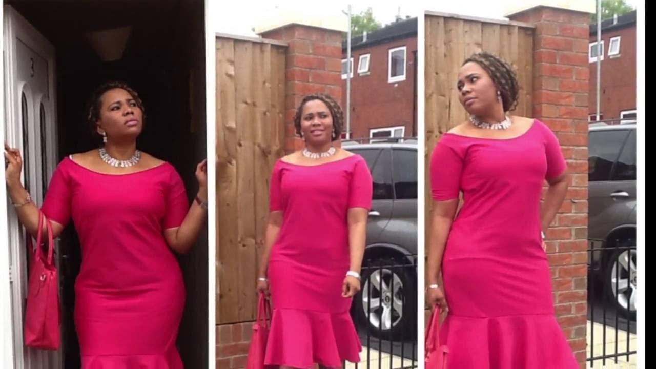 dca4d70db0 How to make a Peplum Dress - YouTube