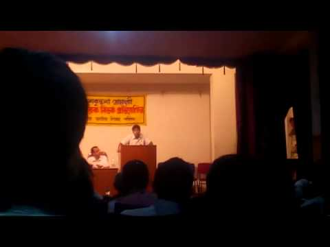 Abhishek Bardhan's Speech On Students' Politics