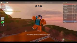 The best trick shot I've ever done on roblox!| Roblox Jail Break