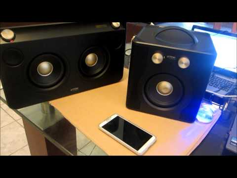 COMPARE TDK V513 SOUND CUBE  AGAINST THE TDK A73 WIRELESS BOOMBOX
