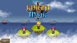 Como jogar Knight And Magic/Knight Age Tutorial Simples #1