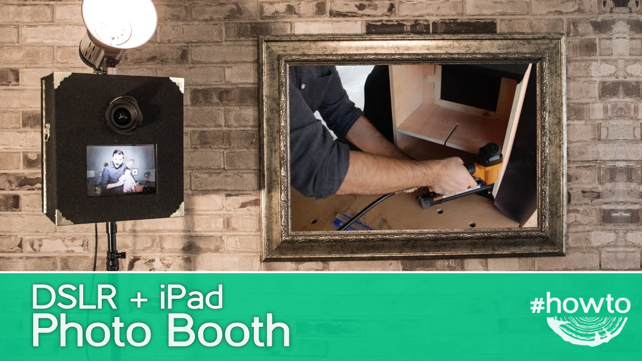 How To Make A Dslr Ipad Photo Booth Youtube