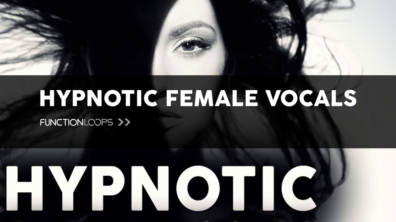 HYPNOTIC FEMALE VOCALS | Female Vocal Hooks, Vocal Loops, Voice Samples