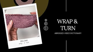 Wrap & Turn - ABRIDGED