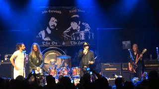 LEMMY KILMISTER from MOTORHEAD BASS AWARD THE OX AND THE LOON presented by CY LANGSTON 4/24/2014