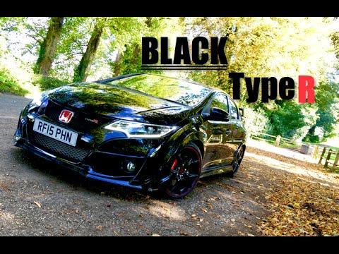 Black 2016 Honda Civic Type R - Inside Lane