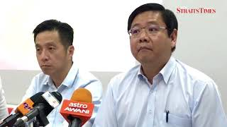Penang BN claims Guan Eng 'lied on four issues' over undersea tunnel project
