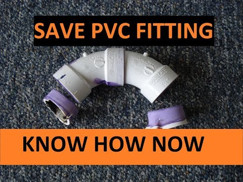 Remove PVC Pipe From Fitting