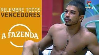 RELEMBRE OS PARTICIPANTES VENCEDORES DE A FAZENDA! (AQUECIMENTO A FAZENDA NOVA CHANCE DIA 12/09)