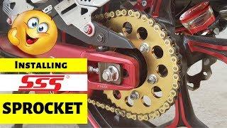 installing SSS Sprocket and RCB Fluid Tank l Yamaha Sniper 150 l Y15ZR l EP. 31