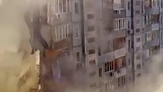 Жесть упал дом с людьми такого вы не видели