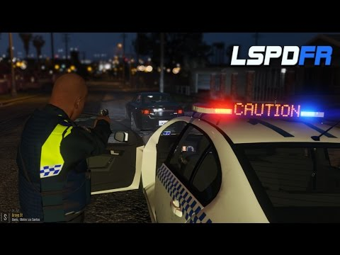 Grand Theft Auto V - NSW Patrol   Gangs attacking Police! Ghetto Patrol   FGX XT