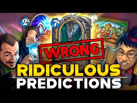 The Most Ridiculous Streamers Predictions: The Best  Cards From The Descent Of Dragons | Hearthstone