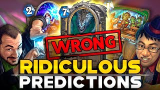 The Most Ridiculous Streamers Predictions: The Best  Cards from the Descent of Dragons   Hearthstone