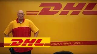 Ein Tag im Leben eines DHL Paketzustellers