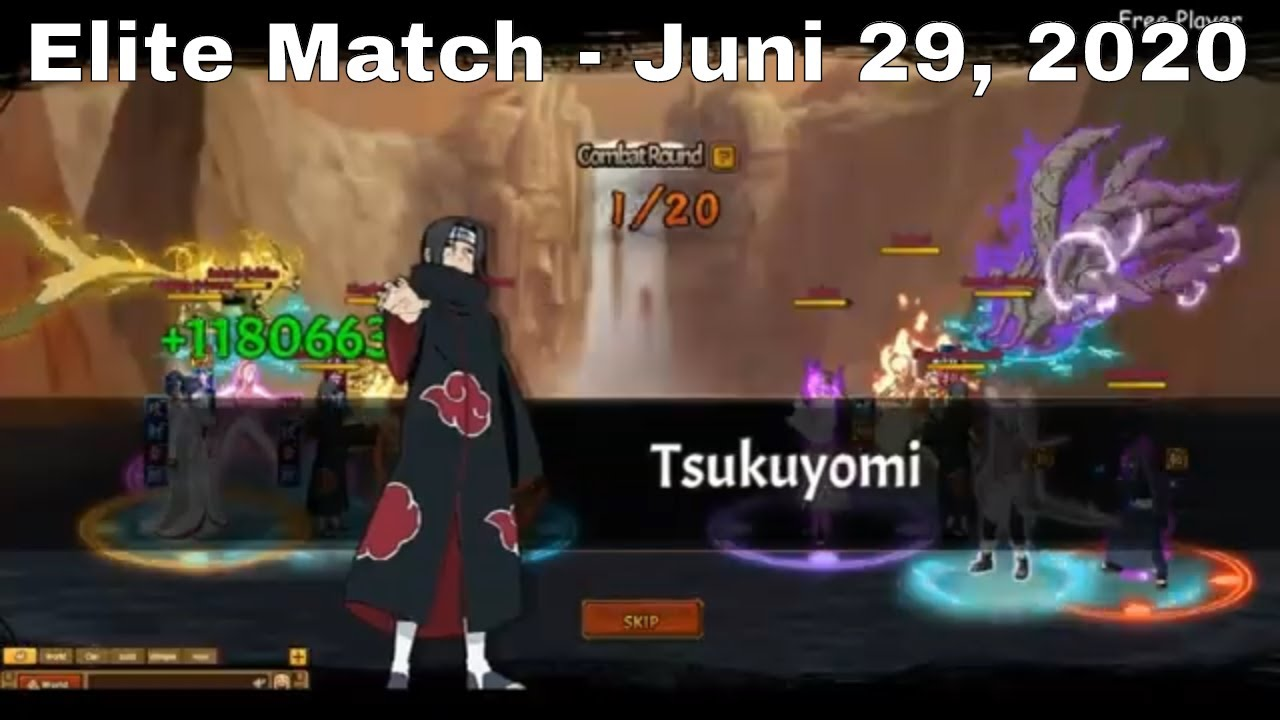 Elite Match - Juni 29, 2020 ► Unlimited Ninja | Ninja Classic | Anime Ninja | Ninja World Online