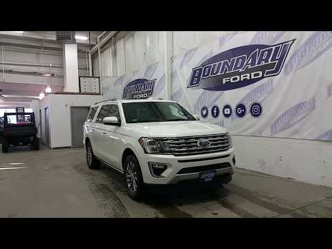 2018 Ford Expedition Max Limited W/ Rear DVD, Ecoboost engine, Leather Overview | Boundary Ford