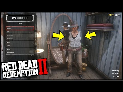 0b2d9ea1a Red Dead Online INVISIBLE ARMS GLITCH *FEMALE* (CLOTHING GLITCH RED DEAD  REDEMPTION 2) - YouTube