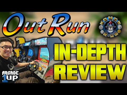 OutRun Seated Arcade1Up In-Depth Review - PLUS Hidden Test Menu Revealed and Calibration Guide from Kongs-R-Us