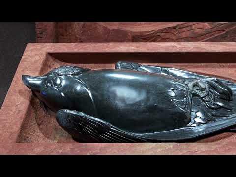 The Amazing American Stone Carver and Wildlife Sculptor Steve Kestrel